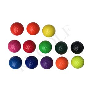 Colored Mini Golf Balls