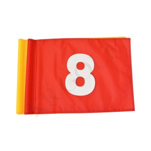 Numbered Golf Flags