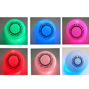 Light activated Glowing Golf ball