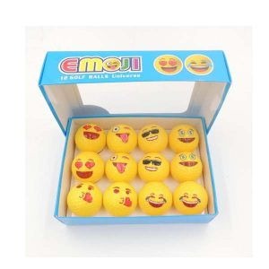 Dozen Packed Emoji Golf Ball