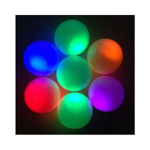 LED flash golf ball