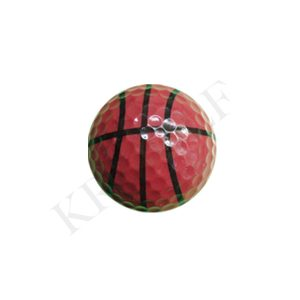 Novelty golf ball-Basketball