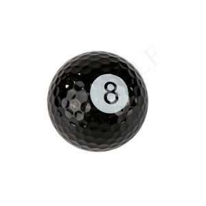 Novelty golf ball-8 ball