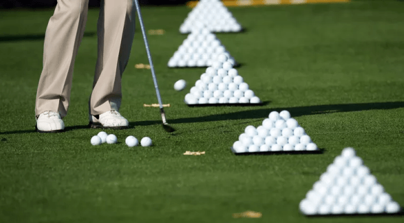 Range Balls in Golf and How They Compare to Regular Balls