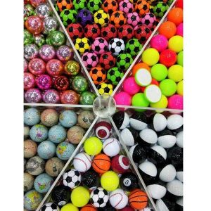 Two color golf ball